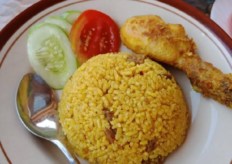 52. Nasi Kebuli Sapi simple - cookandrecipe.com