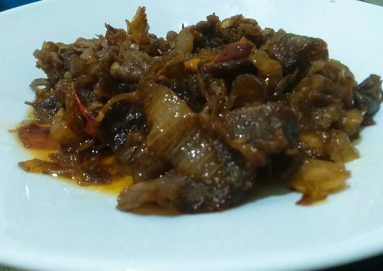 Sliced Beef Marinasi Saus Teriyaki