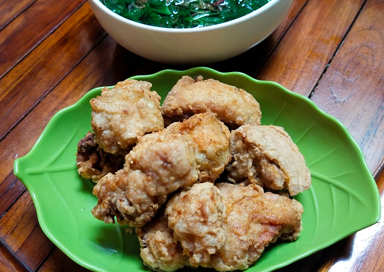 Ayam goreng tepung simpel gurih empuk