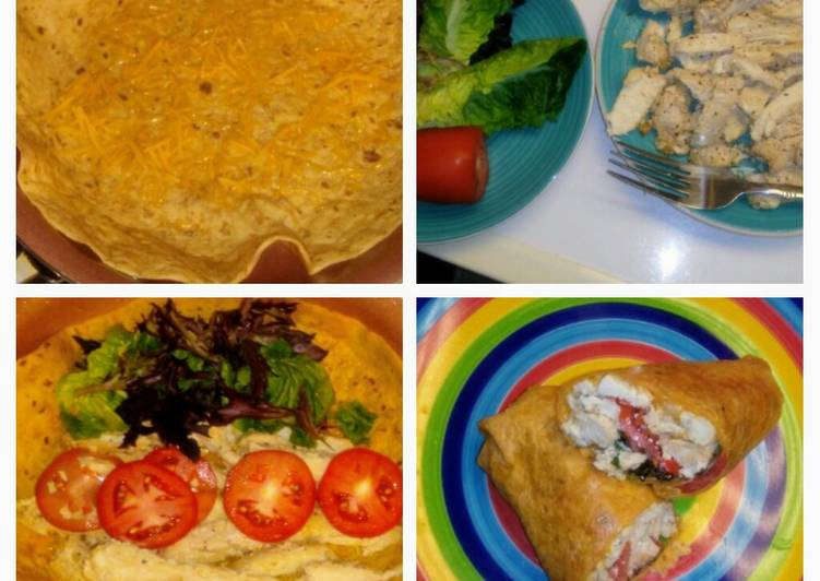 Recipe of Award-winning Chicken Veggie Wrap