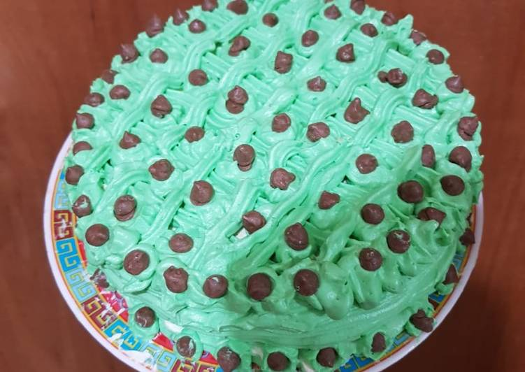 Cake Bolu susu takaran sendok