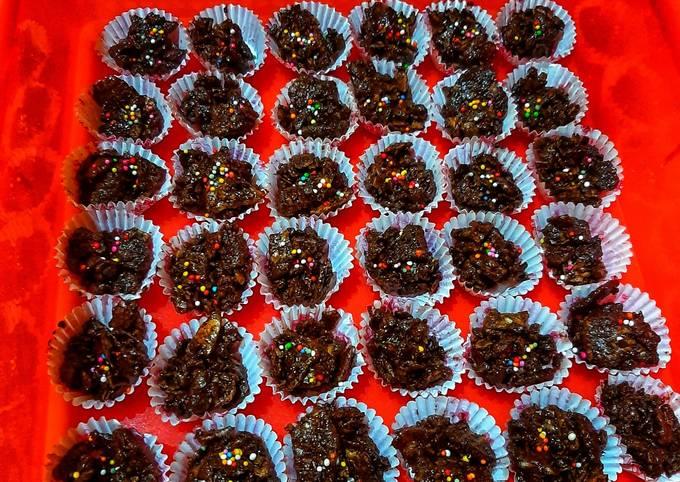 Emping coklat