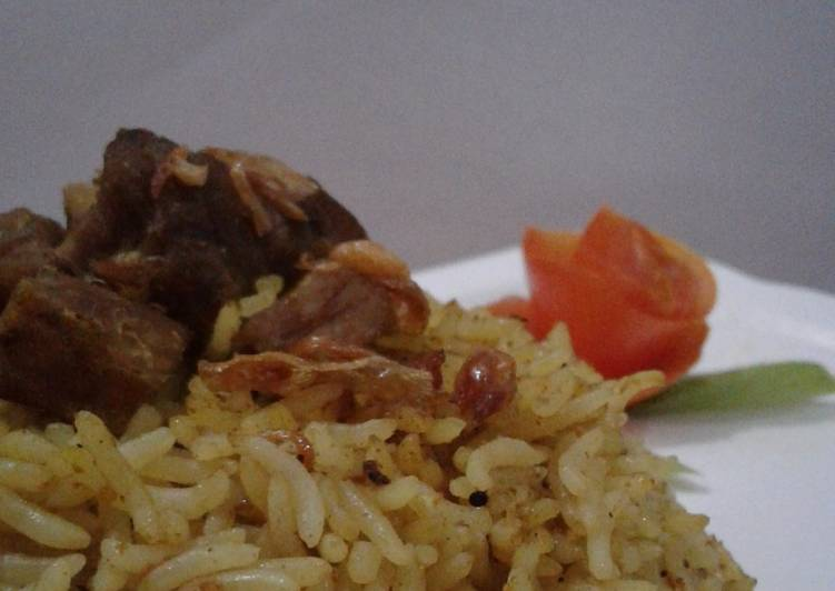 Nasi biryani simple