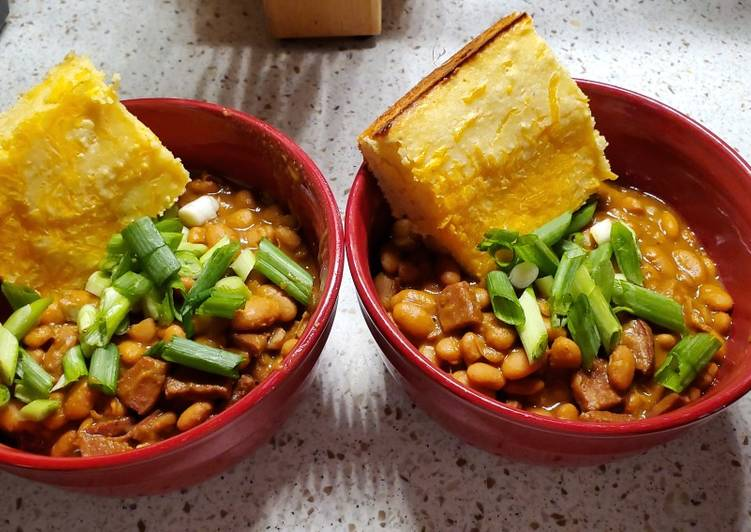 Recipe of Favorite Lauren's Pinto Beans and Ham