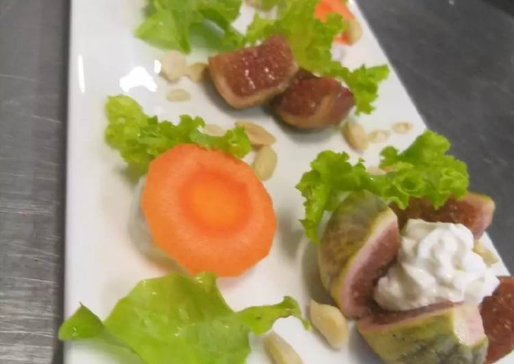 Exotic Figs feta Salad