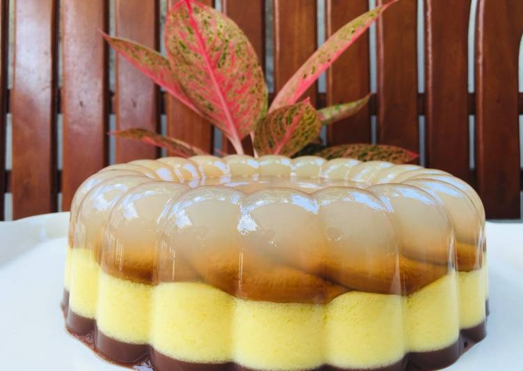Puding Marie regal yummy and rich (recook tintin rayner)