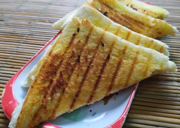 Roti Bakar Pisang Keju