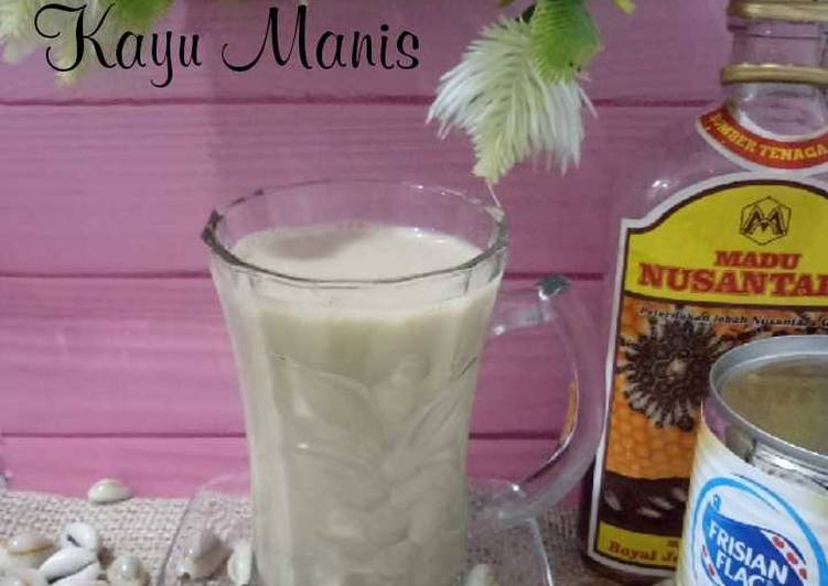 Teh Susu Kayu Manis