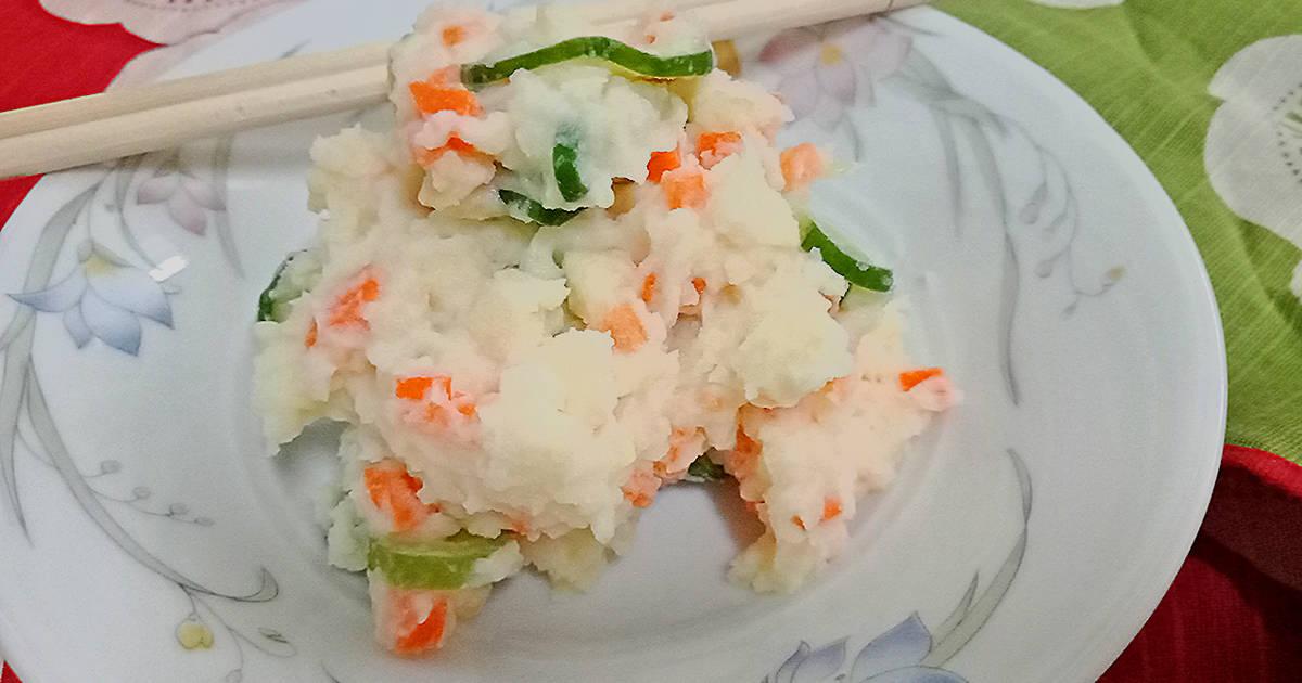 อาหารนอร์มันกับมันฝรั่งและแครอท