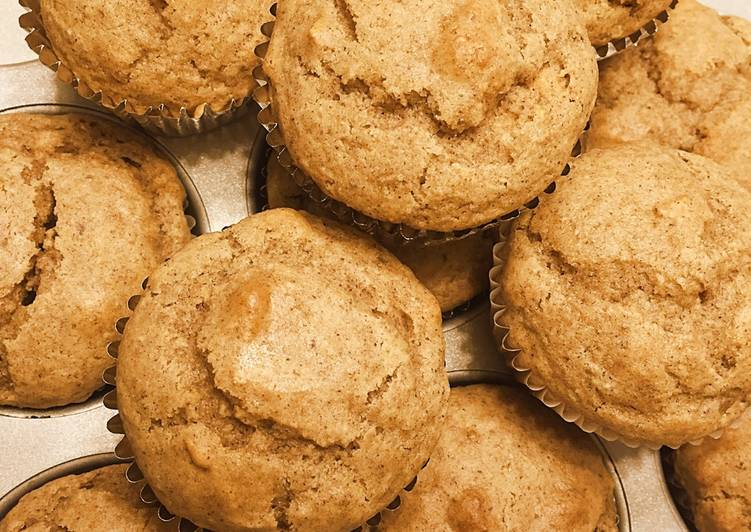 Simple Way to Prepare Ultimate Gluten Free Apple Cinnamon Muffins with Milled Flaxseed