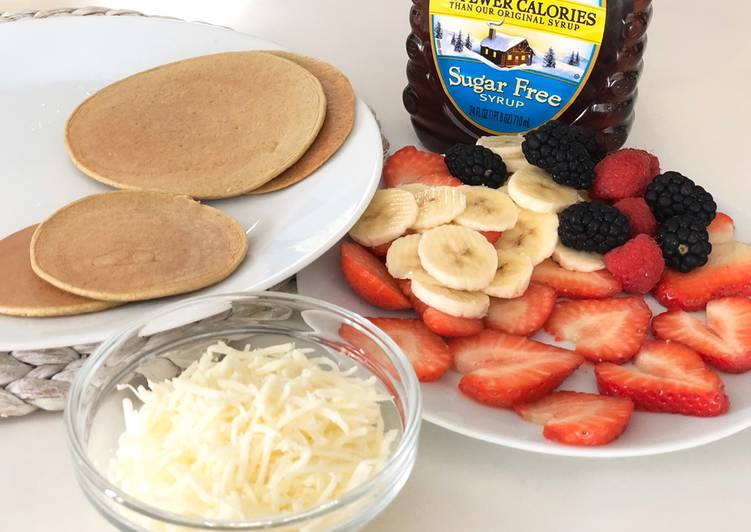 Recipe of Top-Rated Oatmeal pancakes