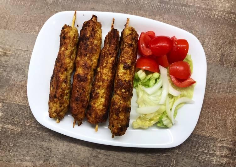 Le moyen le plus simple de Cuire Parfait Recette de kebab de poulet