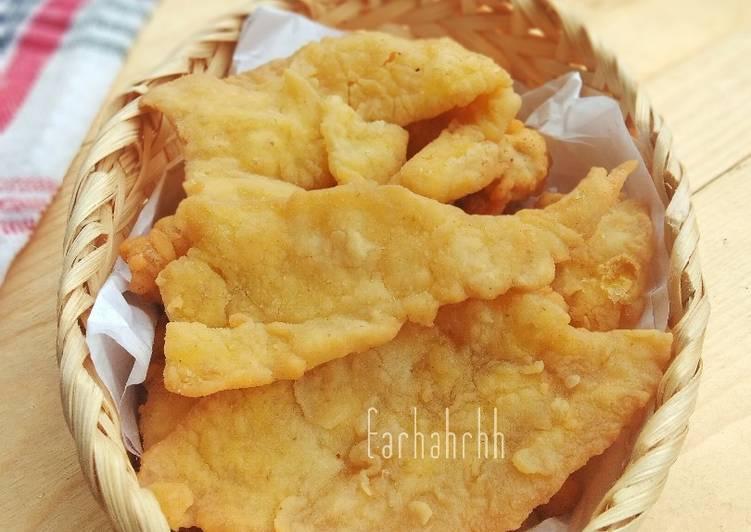 349. Kulit Ayam Crispy Kw (Telur Crispy)