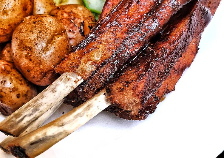 Juicy tender barbeque pork ribs #myfavouriteeasterdishcontest