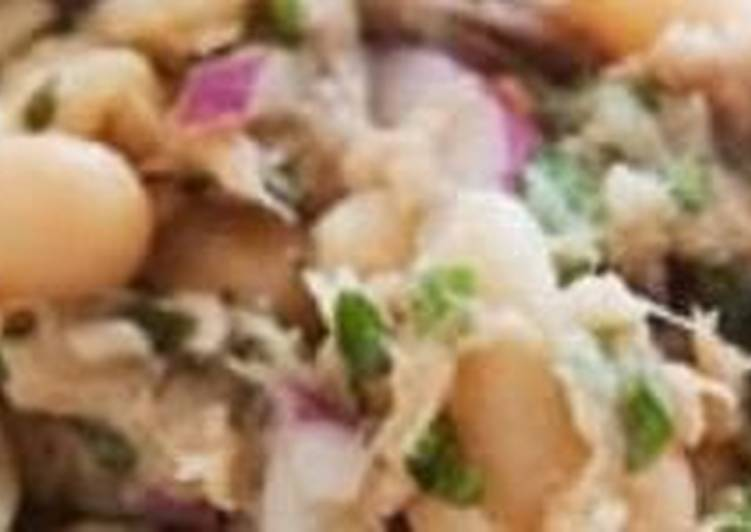 How to Cook Appetizing Tuna Salad with Beans