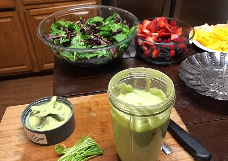 Simple Way to Make Award-winning Alkaline - Avocado Salad Dressing