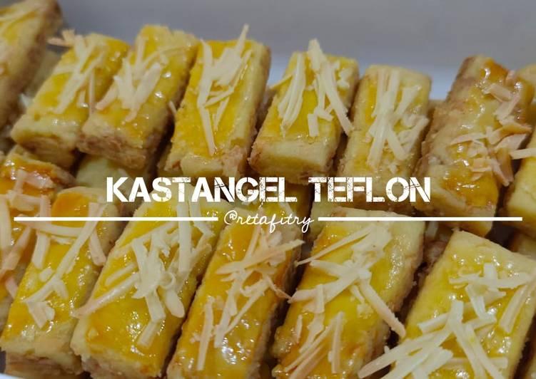 Bagaimana Menyiapkan Kastangel Teflon tanpa telur, tanpa oven, tanpa mixer yang Bikin Ngiler