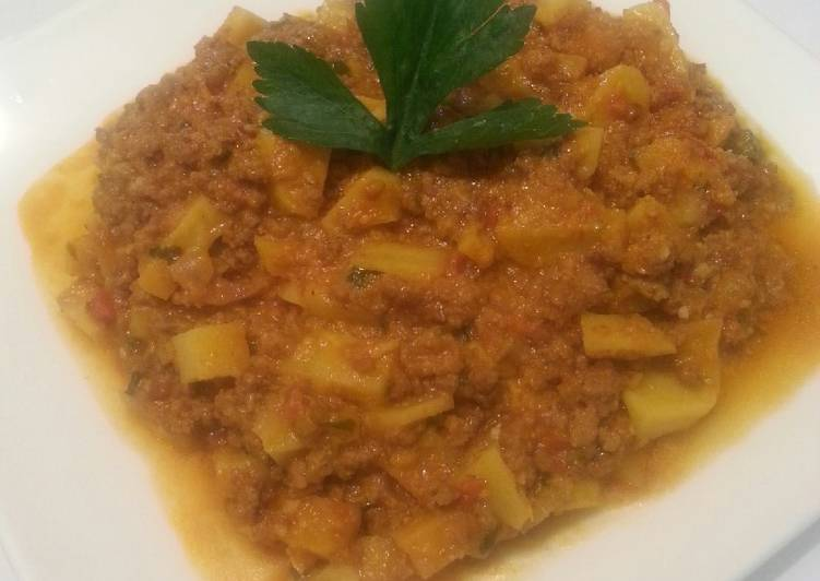Fried potatoes curry# author Marathon contest #