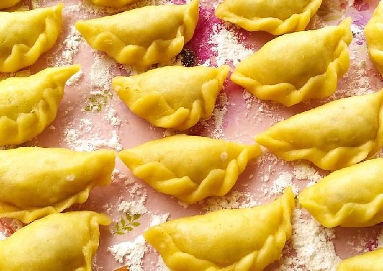 Pastel abon (eggless)