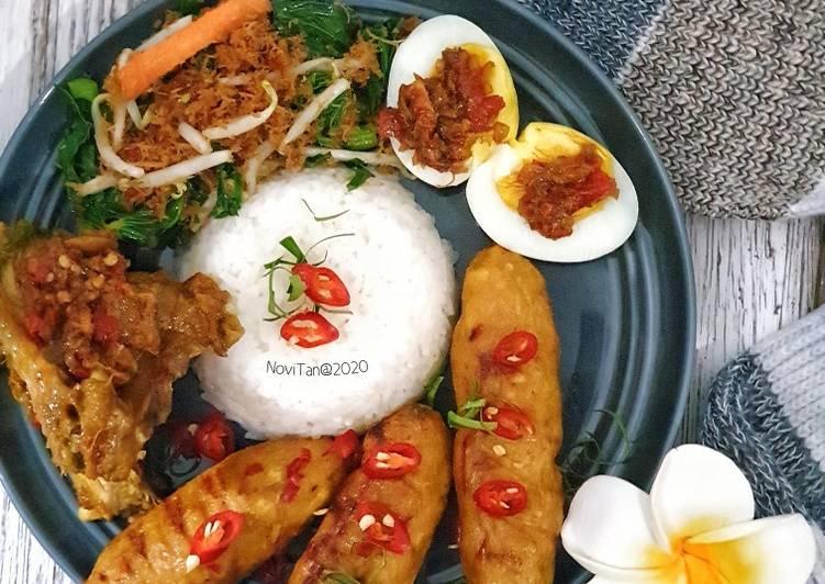 147. Nasi Campur Khas Bali
