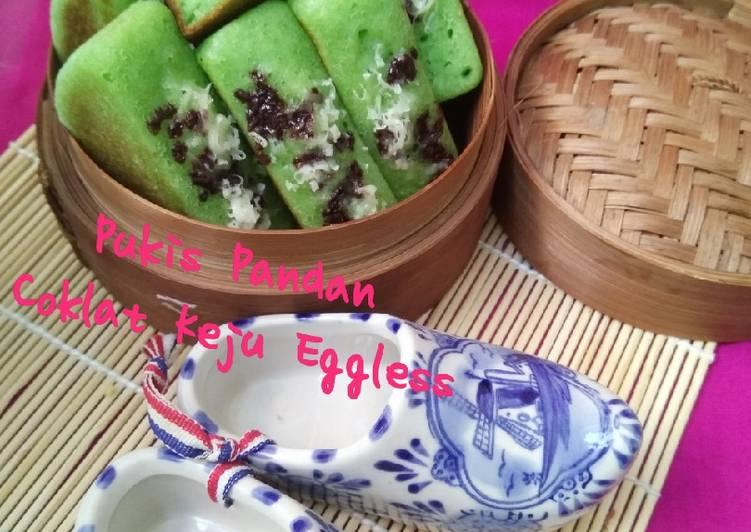 Pukis Pandan Coklat Keju Eggless - cookandrecipe.com