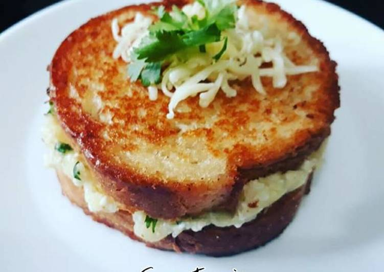 Recipe of Super Quick Homemade Garlic bread stuffing
