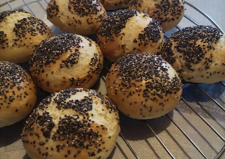 Petits pains aux graines de chia