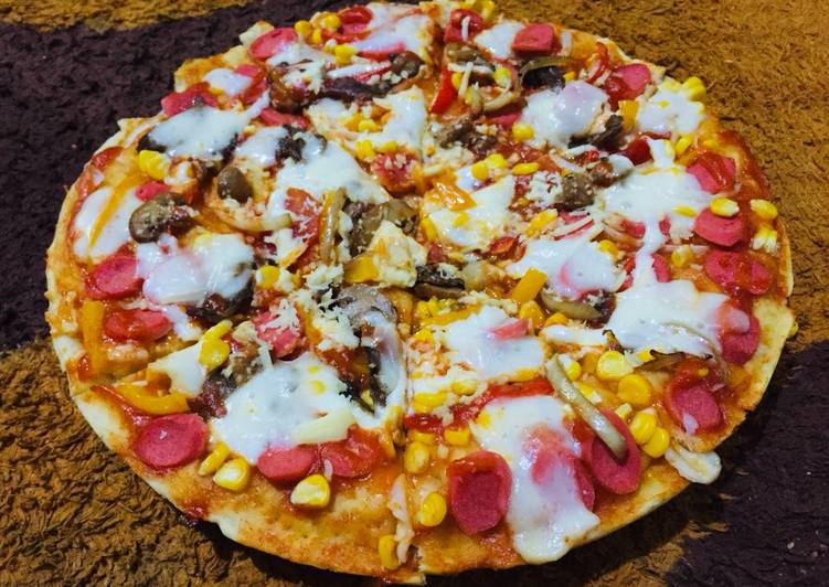 Pizza Cruncy ala rumahan