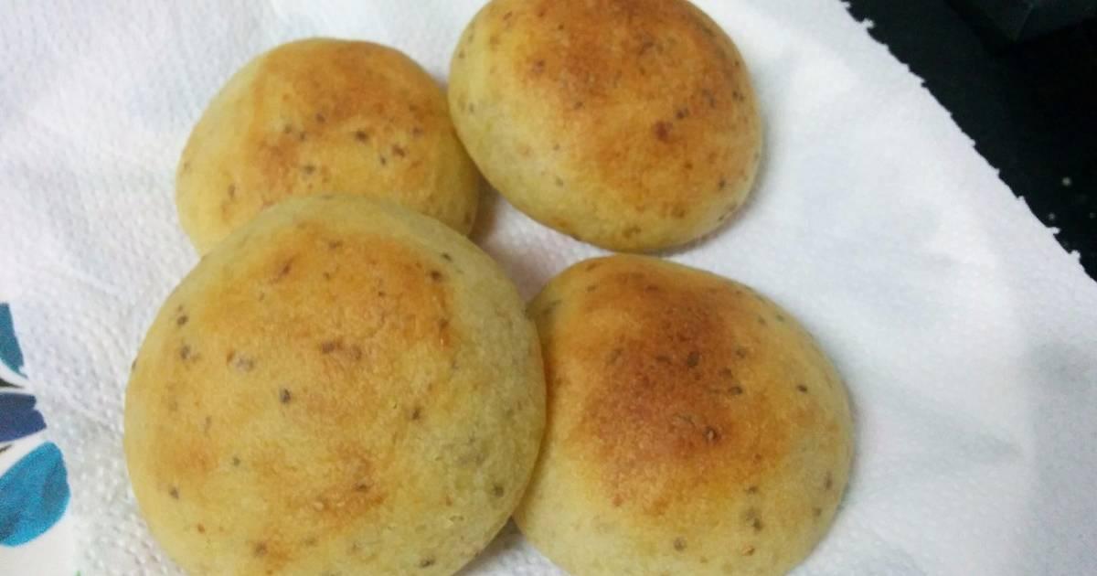 pao low carb com farinha de batata doce