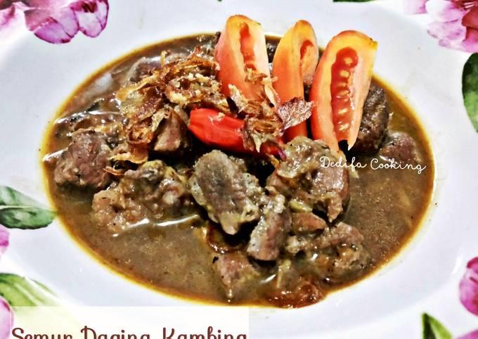 Resep Semur Daging Kambing Berempah Oleh Dedifa Cooking Cookpad