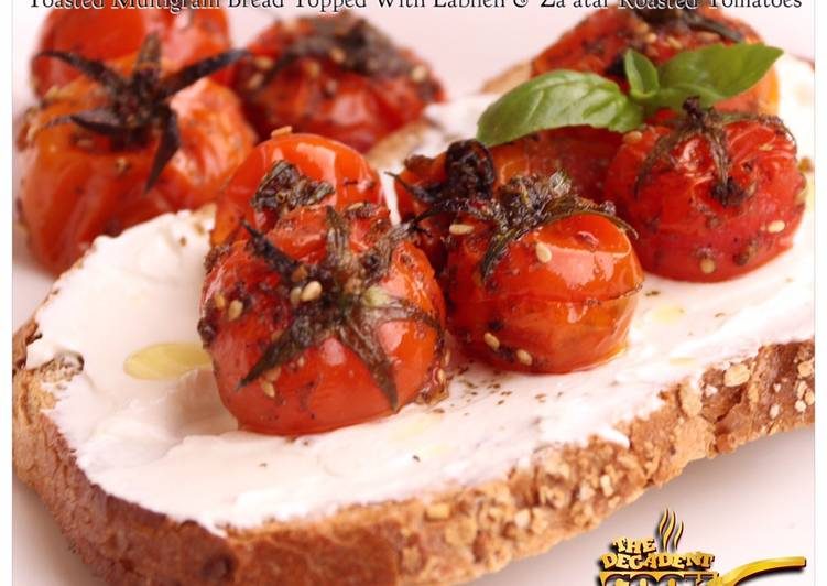 How to Prepare Speedy Zaatar roasted tomatoes