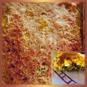 Pastel mix /papas y calabaza/con picadillo de empanadas ??