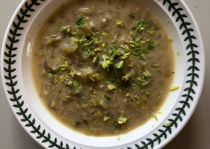 Leek & Celery Soup