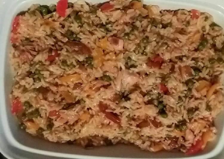 Steps to Prepare Homemade Savoury rice