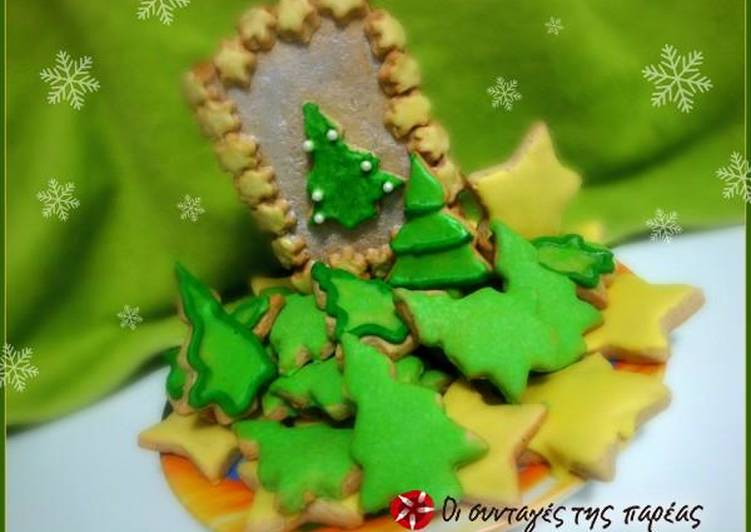 Christmas cookies by S. Parliaros