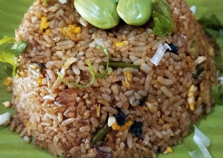 Cara membuat Nasi goreng petai pedas
