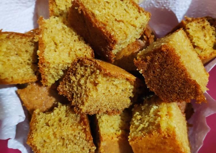 How to Make Speedy Wheat flour sponge cake