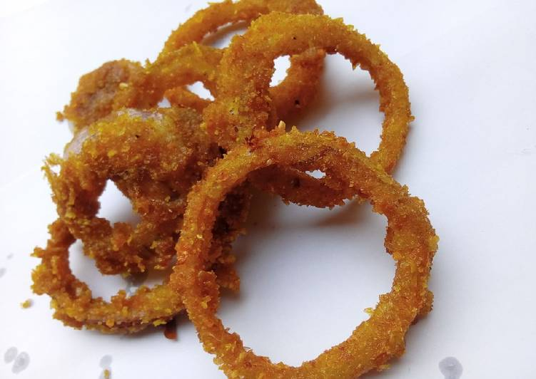 Step-by-Step Guide to Make Super Quick Homemade Onion Crispy Rings