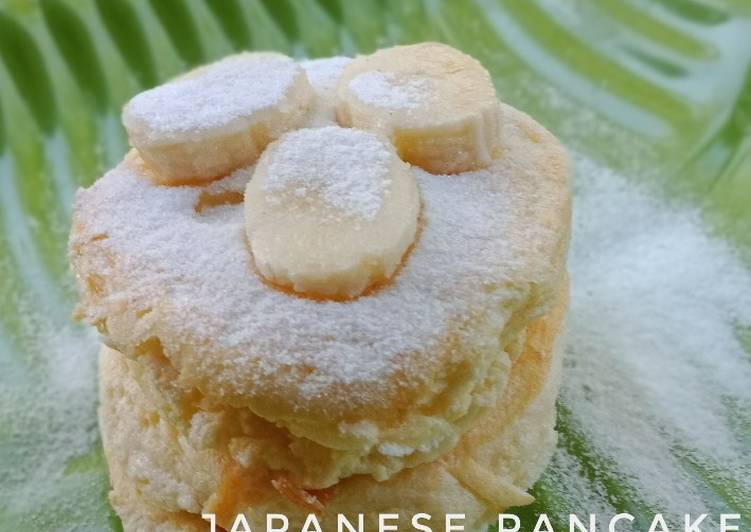 Resep Fluffy Japanese Pancake Paling Top