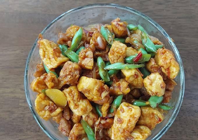 sambal goreng tahu tempe pedas - resepenakbgt.com