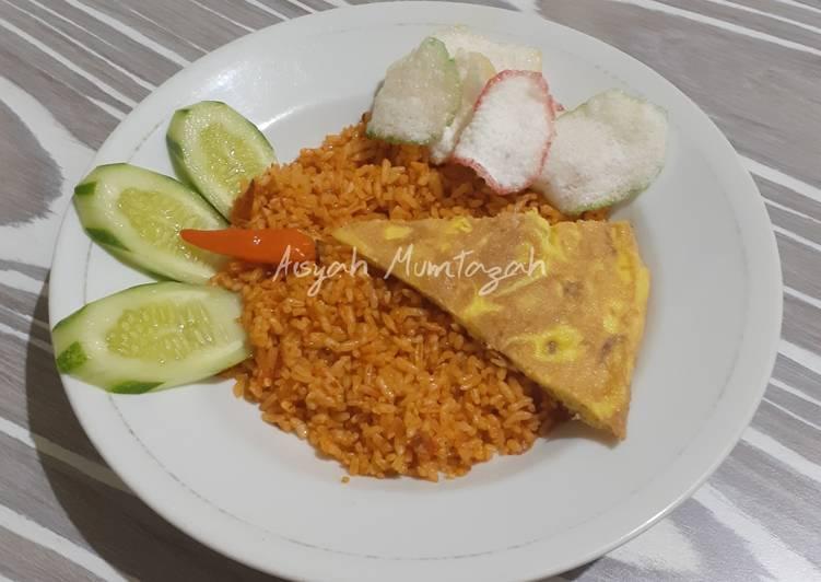Cara Membuat Nasi Goreng Merah khas Surabaya Top Enaknya