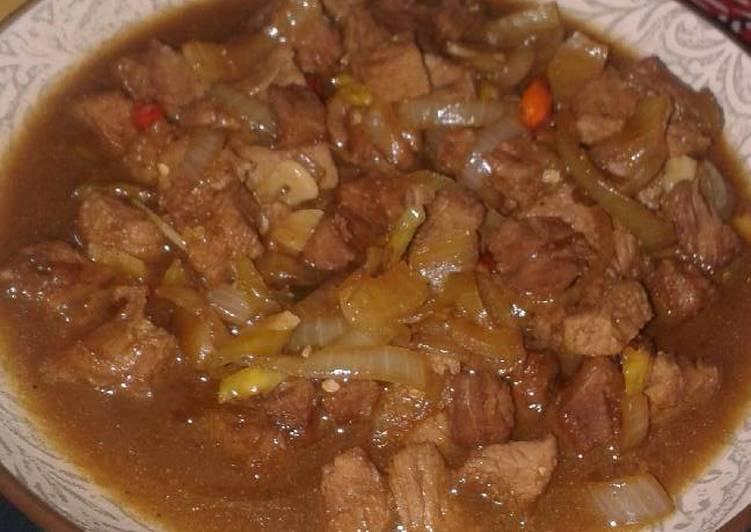 Daging Sapi Saus Tiram