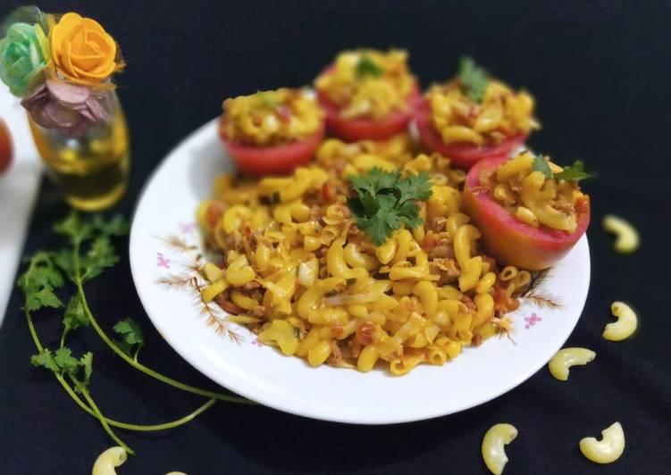 Easiest Way to Prepare Speedy Tomato Beef Macaroni