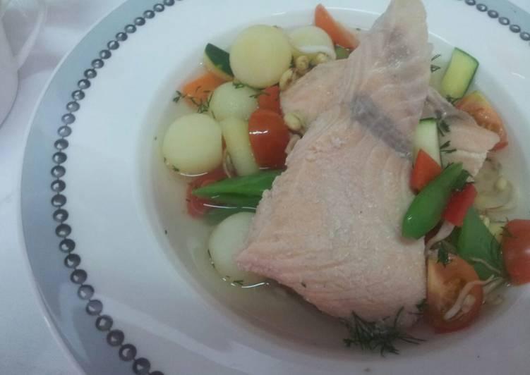 Recipe of Homemade Healthy salmon