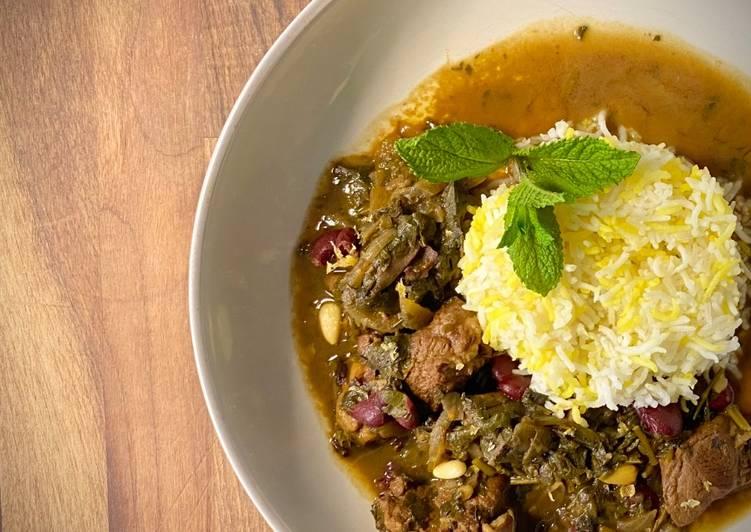 Recipe of Quick Ghormeh Sabzi Beg Wot