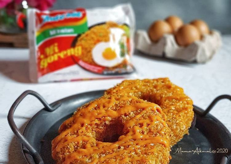 Resep Donat (Indo)mie Double Cheese Paling Mudah