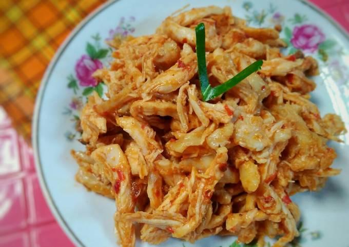 Abon Basah / Ayam Suwir
