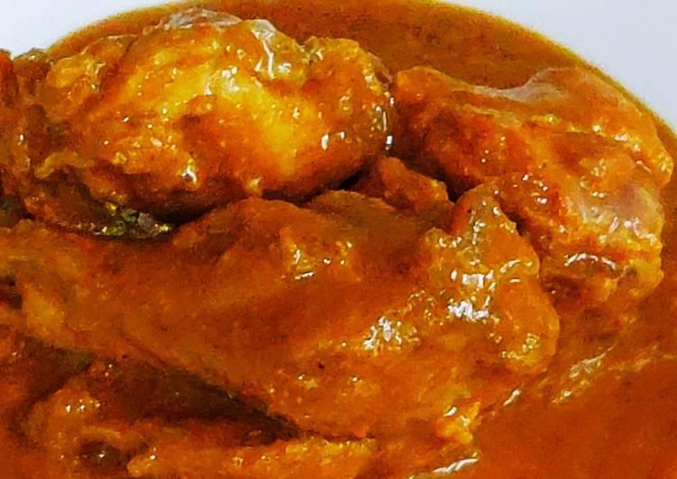 Pressure cooker chicken curry