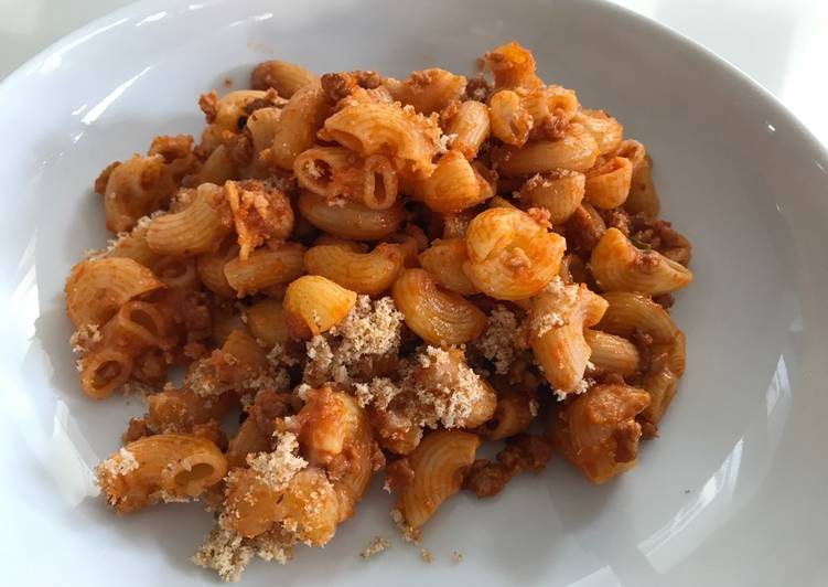 Easiest Way to Prepare Ultimate Sausage meat pasta bake