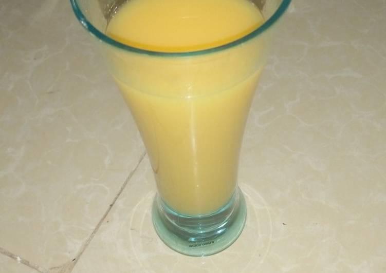 Simple Way to Make Award-winning Orange juice